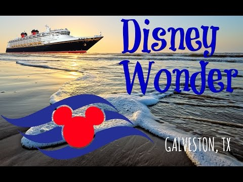 Disney Wonder out of Galveston, TX