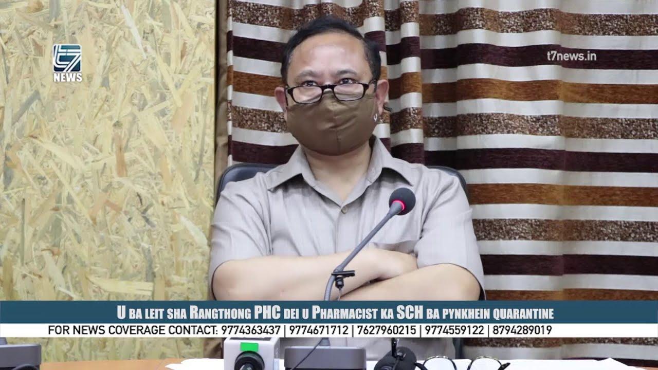 Download U ba leit sha Rangthong PHC dei u Pharmacist ka SCH ba pynkhein quarantine
