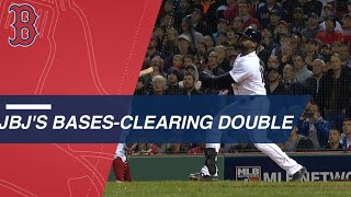 Jackie Bradley Jr.'s bases-clearing double in the 3rd