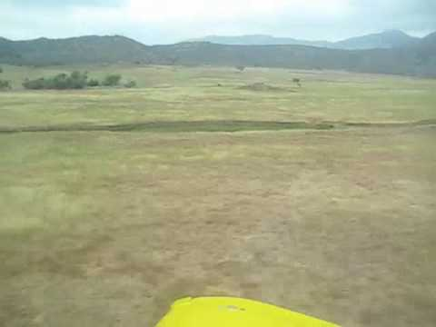 WHEELPAN: LOW LEVEL FLYING: GRUMMAN AA1-B (set to music) 6-09 (M)