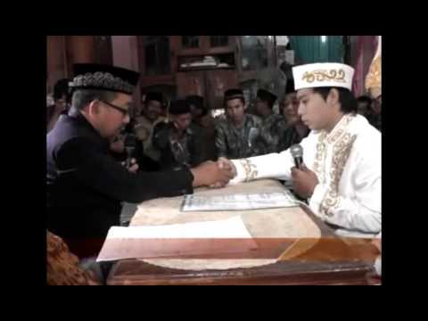 Ijab Qabul Bahasa Arab Dan Indonesia ( Ashari & Aswina )