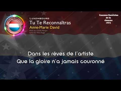 "[1973] Anne-Marie David - ""Tu Te Reconnaîtras"" (Luxembourg)"