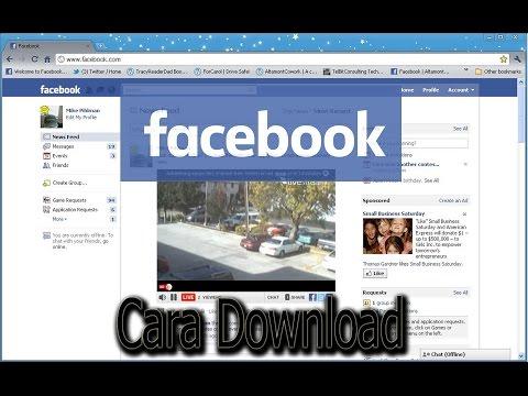 100% Cara Download Video di Facebook - FULL HD  - INSTAGRAM @muhammad xekra