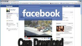 Gambar cover 100% Cara Download Video di Facebook - FULL HD  - INSTAGRAM @muhammad xekra