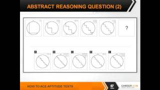 Abstract Reasoning, Logical Reasoning, Inductive Reasoning - How To Ace Aptitude Tests 5/7