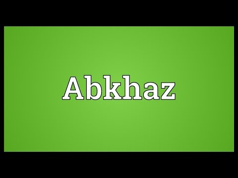Abkhaz Meaning