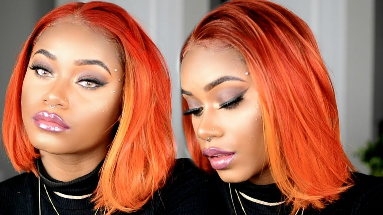 How To Get The Perfect Copper Orange Hair For Fall Start To Finish