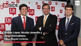 Andrés López, Nicolás Jaramillo, Jorge Giannattasio
