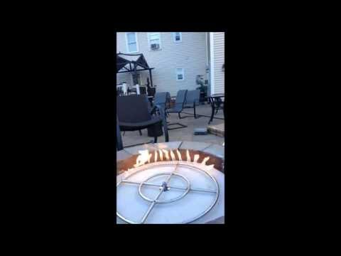 Fire Pit Wood to Propane Conversion