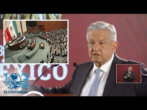 Si Congreso no aprueba ley de Austeridad se emitirá memorándum: AMLO