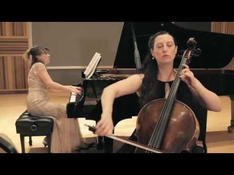Duo Déjà vu   Edvard Grieg   Sonata for cello and piano in A minor Op  36  Allegro Agitato SD