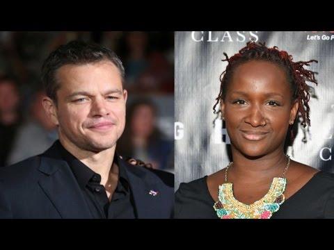 Matt Damon Tells Effie Brown, Black Woman, About Diversity P2 - Zennie62