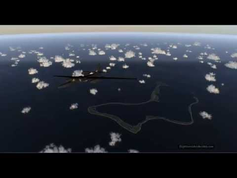 Military Air Traffic at Diego Garcia