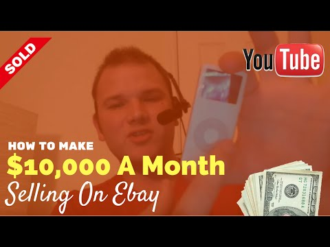 How To Make $10,000 Per Month Selling On Ebay With RockstarFlipper
