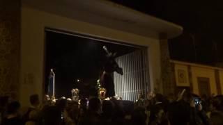 Viacrucis Nazareno del Perdón por interior colegio Gamarra. Málaga, 1 marzo 2017 (5)