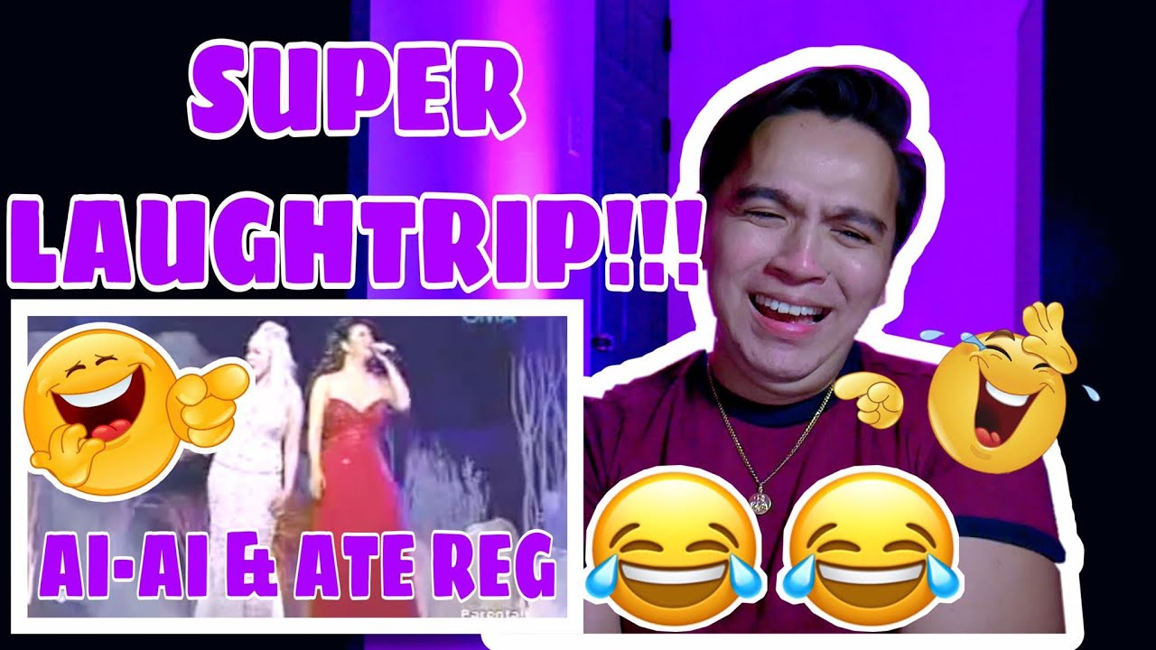 "REGINE VELASQUEZ ALCASID WITH MS. AI-AI DELAS ALAS SINGING ""TOTAL ECLIPSE OF THE HEART"" #REGINE #RVA"