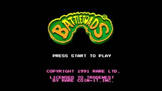 Battletoads NES Turbo Tunnel Extended