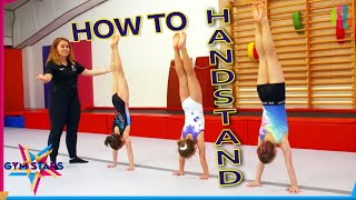 How to Handstand | Gymnąstics Tutorial