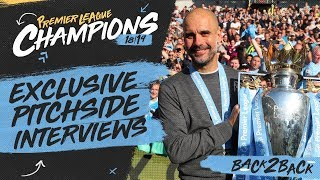 PEP & PLAYERS REACT | PREMIER LEAGUE CHAMPIONS