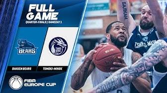 Bakken Bears v Tsmoki-Minsk  - Full Game - FIBA Europe Cup 2019-20