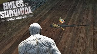 Only First Guns I See Challenge! (Rules of Survival #110)