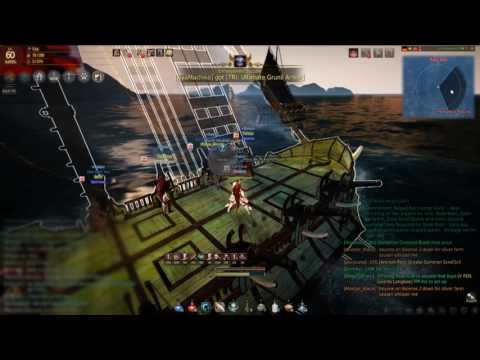 Black Desert Online Lone Baka Galleon defeats Man Up with the power of anime memes and friendship
