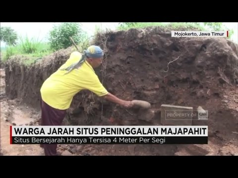 Warga Jarah Situs Peninggalan Majapahit