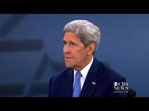 Scott Pelley asks John Kerry if China or Russia is reading his emails