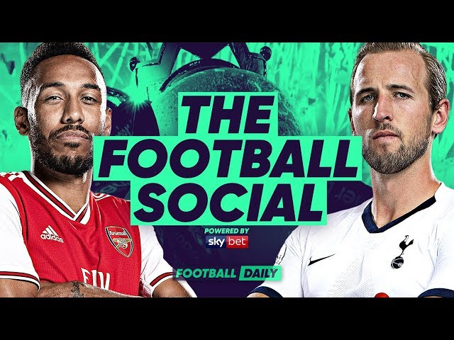 Arsenal 2-2 Tottenham | Aubameyang Rescues Draw In North London Derby