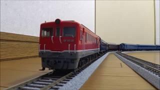 国鉄時代 DF50+旧型客車 走行音(紀勢線:六軒駅発車)