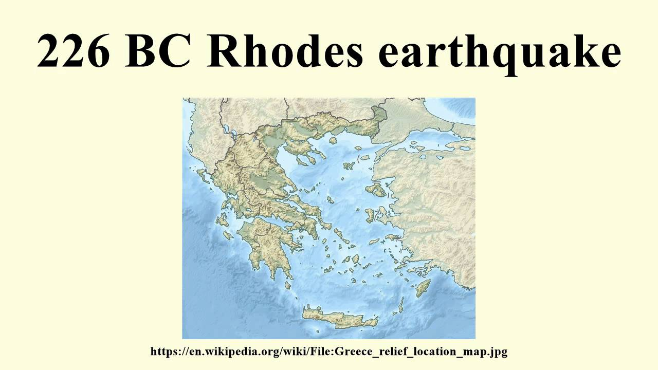 226 bc rhodes earthquake youtube gumiabroncs Image collections