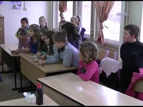 """Primary School """"St. Constantine Cyril Philosopher"""" - A typical school day of the youngest students"""