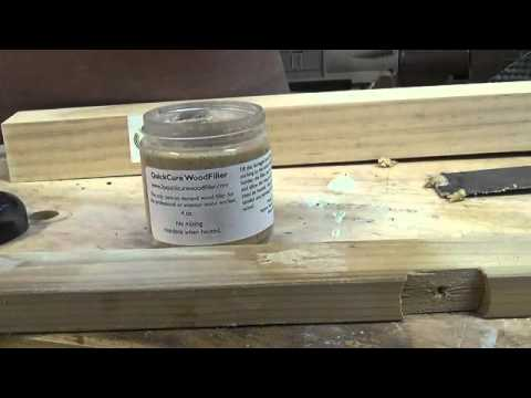 QuickCure WoodFiller
