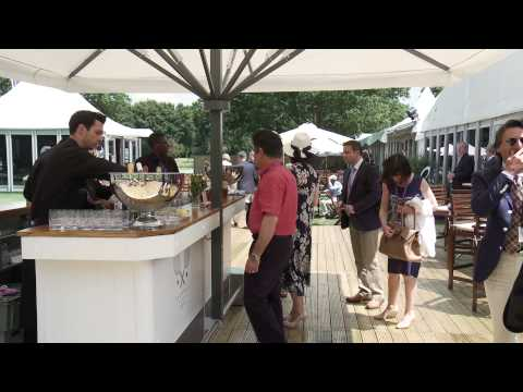 The Championships, Wimbledon 2015 - Official Hospitality at The Fairway Village - Clients