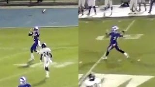 IMG Academy pulls off Double Pass TD