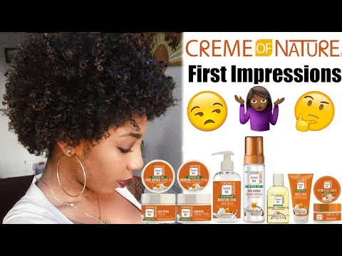 NEW Creme of Nature Coconut line Review | Moisture Packed? | NaturallyNellzy