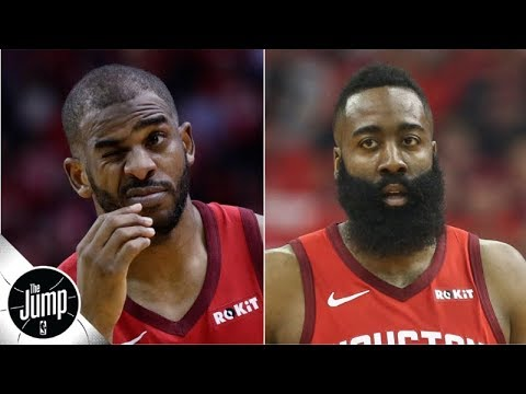 Chris Paul Reacts On Social Media To News Of Rift With James Harden   The Jump