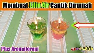Cara Membuat Lilin/Lampu Hiasan Cantik Aromaterapi Dirumah