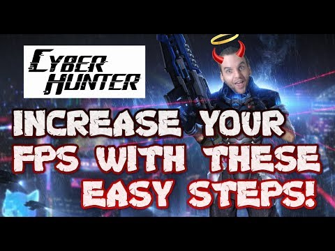 Repeat ❌No Lag❌ Cyber Hunter Permanent Lag Fix 60 FPS No