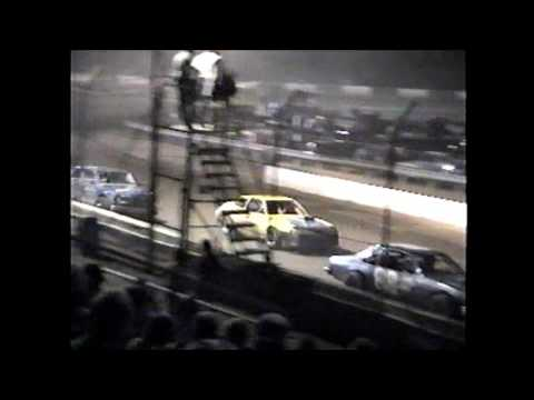 County Line Raceway Modified 4 cylinder feature 6-16-95