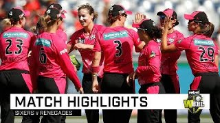 Perry stars, Sixers finish top in WBBL | Rebel WBBL|04