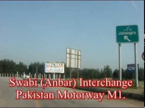 Swabi (Ambar) Interchange on Pakistan Motorway (M1) Section.
