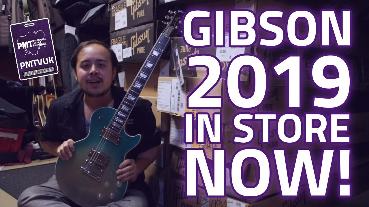 Gibson 2019 Guitars Available In Store & Online Now!