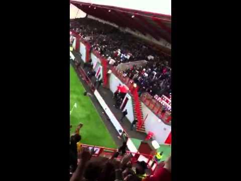 Dundee  singing away to Hamilton