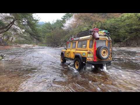 1/10 Scale Land Rover DEFENDER D110 CAMEL TROPHY Off Road #2