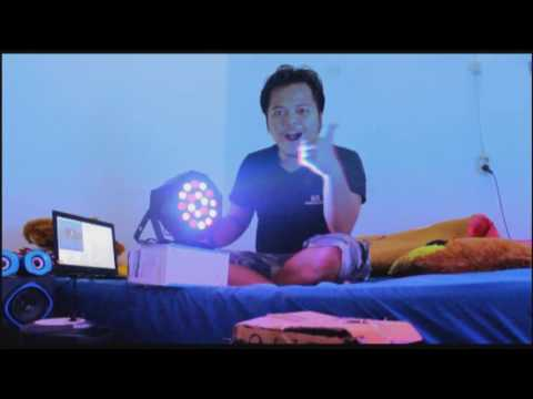 UNBOXING LIGHTING MURAH TAPI MANTAP # Cocok untuk Karaoke dan Panggung
