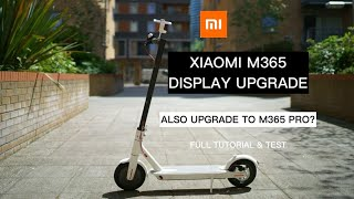 One Step Upgrade Xiaomi M365 to M365 Pro? Tutorial & Review Install Xiaomi M365 with Pro LED Display