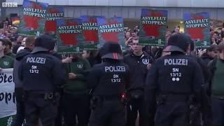 Nhập cư Đức: người biểu tình đụng độ ở Chemnitz