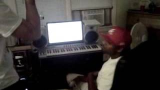 "All Across The Land - T Blaze Feat. Capo City 360 ""In Studio"""