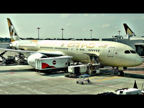 TRIP REPORT | Etihad Airways | Boeing 787-9 Dreamliner | Abu Dhabi - Singapore | Economy Class